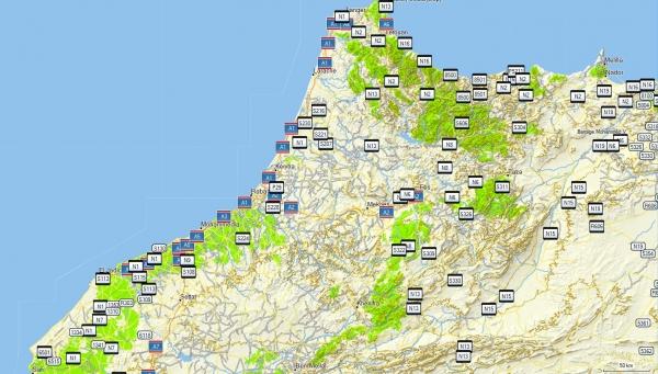 Topografico Marruecos GPS GARMIN
